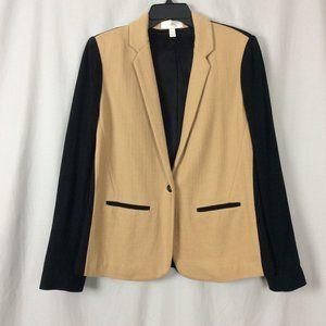 J. Crew Colorblock Wool Blend Blazer Size 10